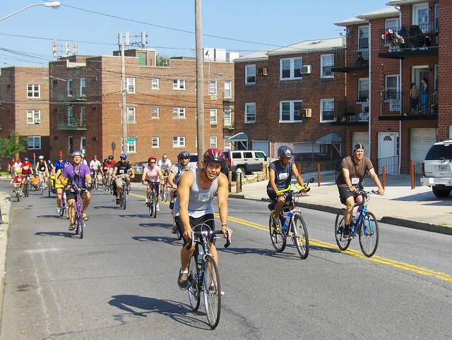 Queens Bike Tour Map
