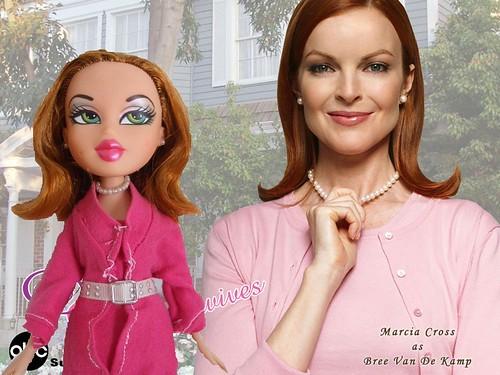 "OOAK Bree Van de Kamp Hodge da ""Desperate Housewives"" SOLD by eleutheria_bratz"
