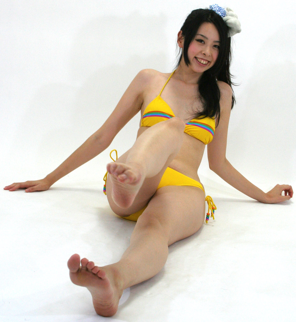 image Sexy japan lady artistic performance nude sport art