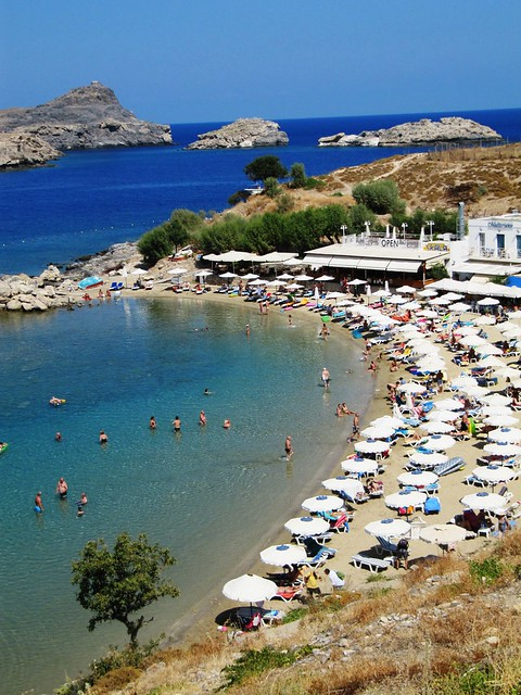 The Protected Waters of Lindos Bay - Rhodes