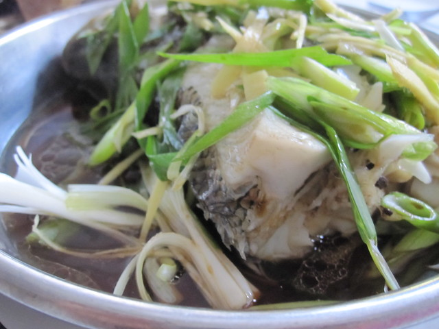 steamed fish with ginger and scallions | Flickr - Photo Sharing!