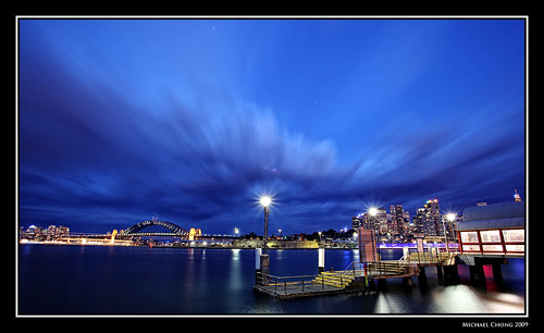 Blue Hour Balmain by Mike Chong