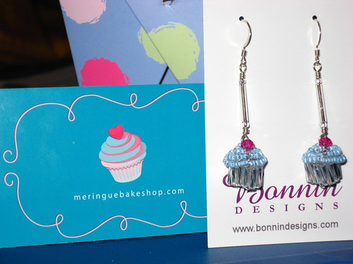 Cupcake Earrings!