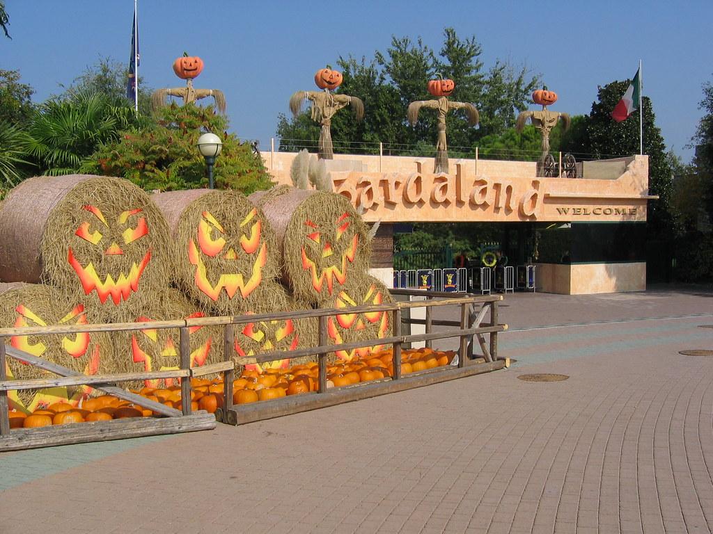 Halloween A Gardaland.Gardaland Magic Halloween 2009 Ingresso Tematizzato Hallow Flickr