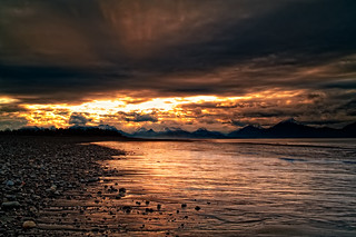 Sunrise over Kachemak Bay - Homer, Alaska