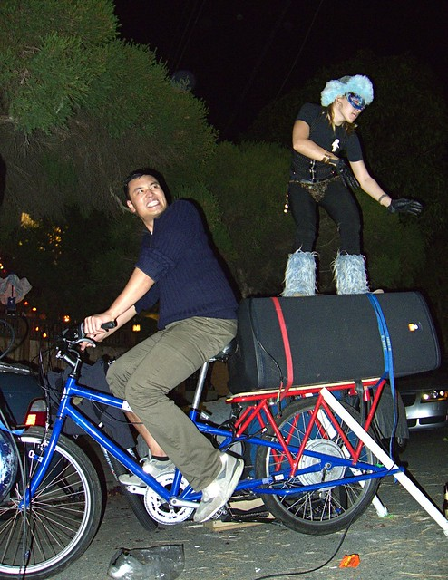 portable bike powered speakers