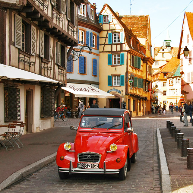 Citroen Colmar : red citro n in colmar france flickr photo sharing ~ Gottalentnigeria.com Avis de Voitures