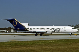 Royal Airlines B727-2J4 Advanced C-GRYQ
