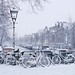 Hello Winter at the Prinsengracht in Amsterdam by B℮n