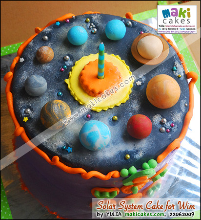 planets cake toppers-#44
