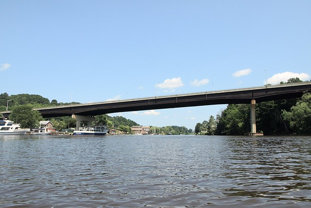 John T. Loughran Bridge over Rondout Creek, Kingston NY