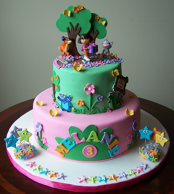 Dora the Explorer Cake Flickr - Photo Sharing!