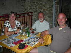 At the Auberge Les Acacias, Courniou