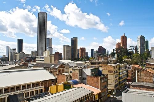 Skyline downtown Bogota