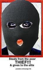 Obama Criminal Joker Poster 2nd
