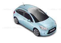 race car(0.0), model car(1.0), automobile(1.0), automotive exterior(1.0), citroã«n(1.0), supermini(1.0), vehicle(1.0), automotive design(1.0), city car(1.0), bumper(1.0), land vehicle(1.0), citroã«n c3(1.0), hatchback(1.0),