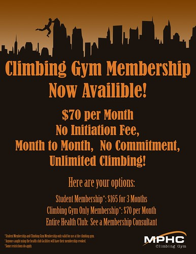 Climbing Gym Membership