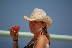 fun, clothing, head, hat, cowboy hat, beauty,