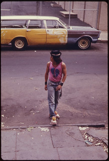 Young Latin Male in Paterson, New Jersey's, Inner City ... 06/1974