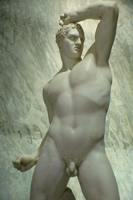 Antonio Canova's The Boxer Kreugas (1800)