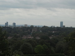 Manchester City Centre from Heaton Park