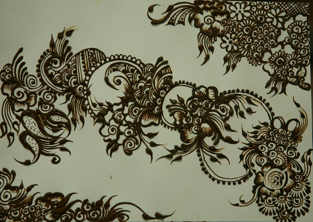 Henna Art Arabic Design A Photo On Flickriver
