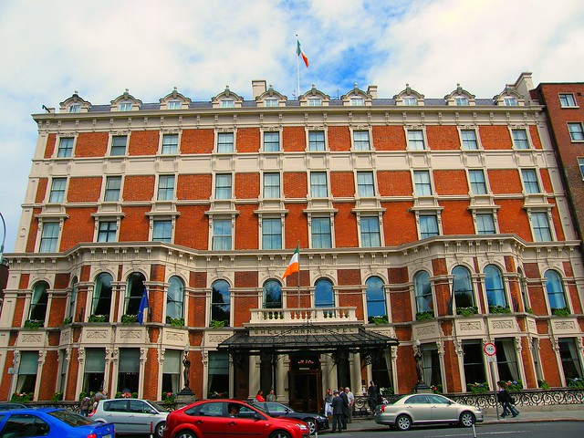 The world-famous Shelbourne Hotel Dublin by Renaissance Hotels and Resorts in 2008 - The grand dame of Dublin cultural society and a luxury dream palace! Enjoy!