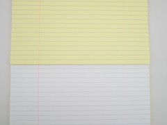 Rhodia Number 19 Yellow Lined Writing Pad Fountain Pen Friendly Paper Review 13