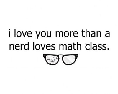 Nerds love math class