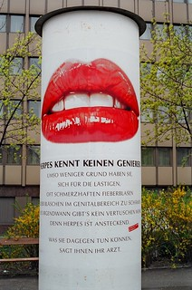 Herpes Ad in Vienna 1987