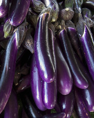 vegetable, eggplant, purple, violet, produce, food,
