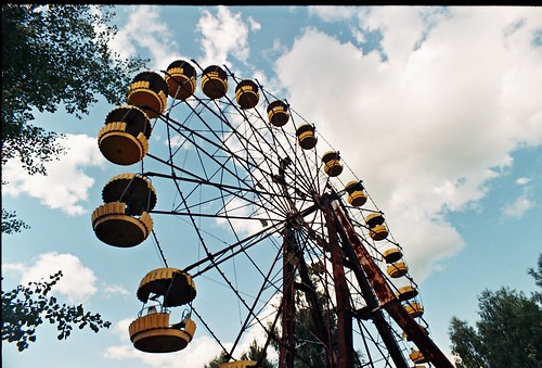 Another photo on Flickr® of the ferris wheel in Prypiat ;-)