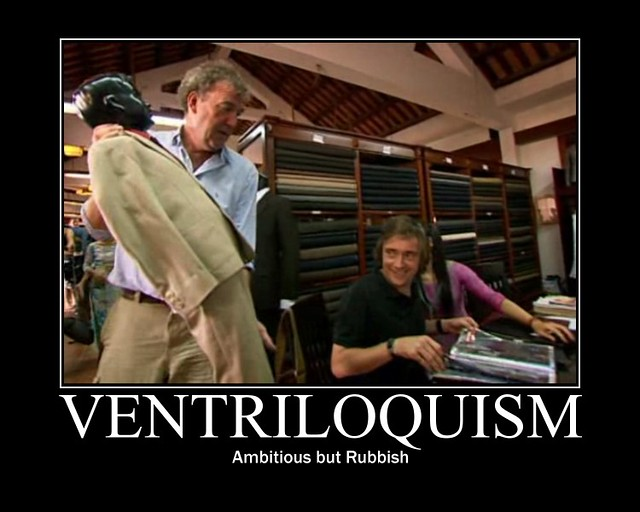Header of ventriloquism