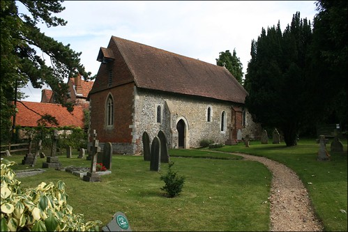 Wanborough church