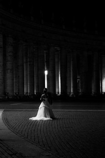 Wedding Shots at St. Peter's Square