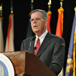 Dennis McCarthy, assistant secretary of defense for Reserve affairs, addresses the 131st National Guard Association of the United States General Conference