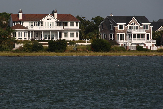 nice waterfront mansions in charleston south carolina flickr