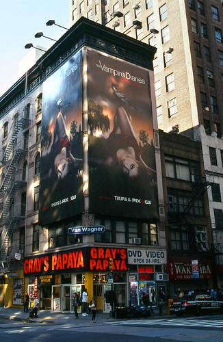 Vampire Diaries ad - 8th Ave., NYC