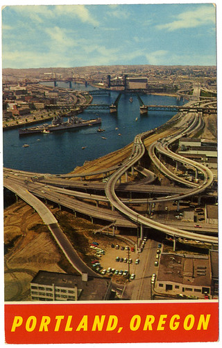 Portland's waterfront used to be scarred with freeways