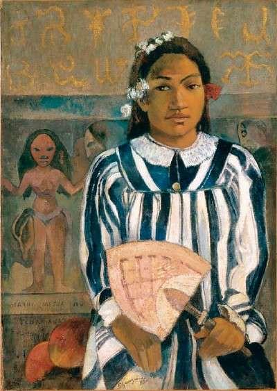 Marahi Metua No Tehamana Aka Tehamana Has Many Ancestors Paul Gauguin