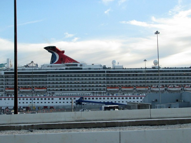 Carnival Cruise Ship Berthed In Baltimore Harbor  Flickr