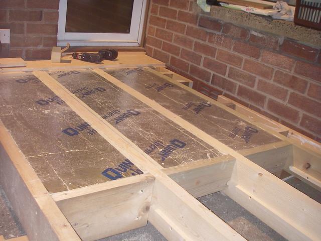 Floor insulation flickr photo sharing for Floor joist insulation