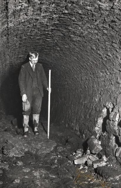 Victoria Tunnel in WW2 - Photo from Newcastle Libraries