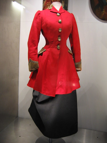 Woman's riding habit