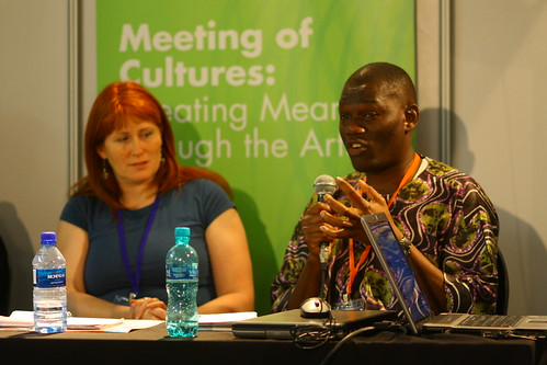 Joanne Orr (UK) and Olu Alake (UK), 4th World Summit on Arts & Culture