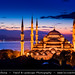 Turkey - Brand New Day over The Blue Mosque (Sultan Ahmet Camii) in Istanbul by © Lucie Debelkova / www.luciedebelkova.com