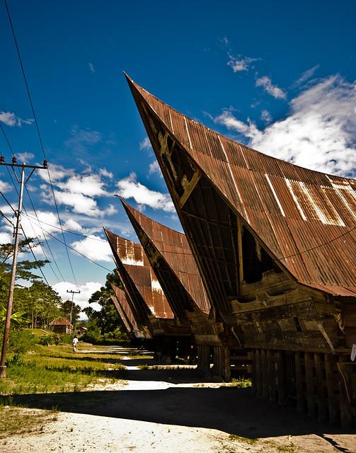 Housing of the Batak tribe