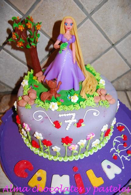 Imagui torta rapunzel - Imagui