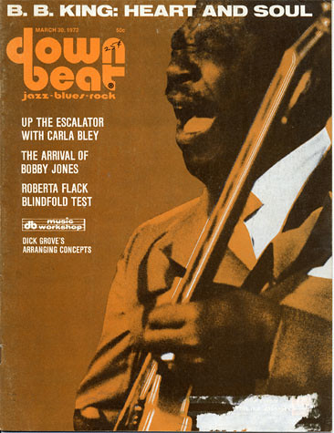 March 1972 Downbeat