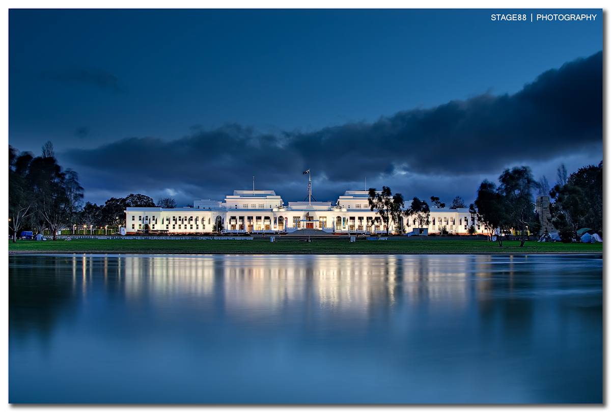 Old Parliament House in Canberra